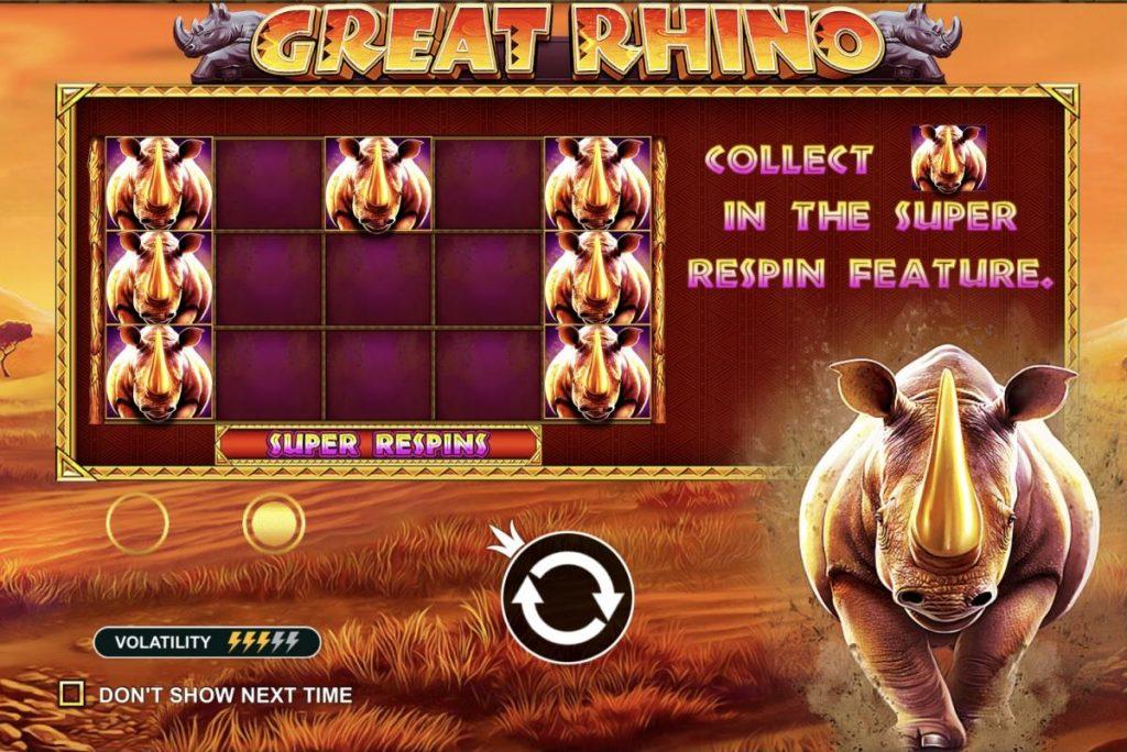 Great Rhino-เกม
