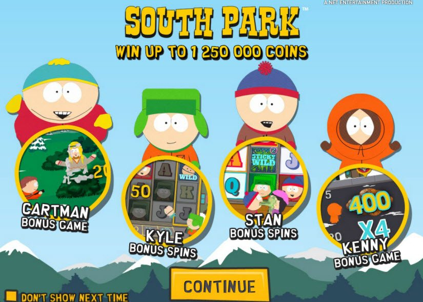 South Park-คาสิโน